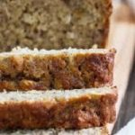 banana and oat bread