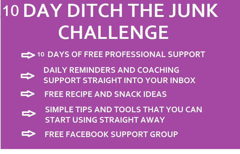 10 day ditch the junk challenge