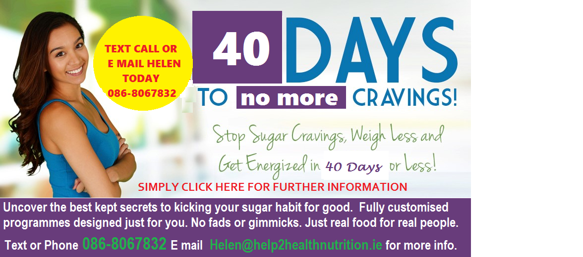 40 days to no more cravings