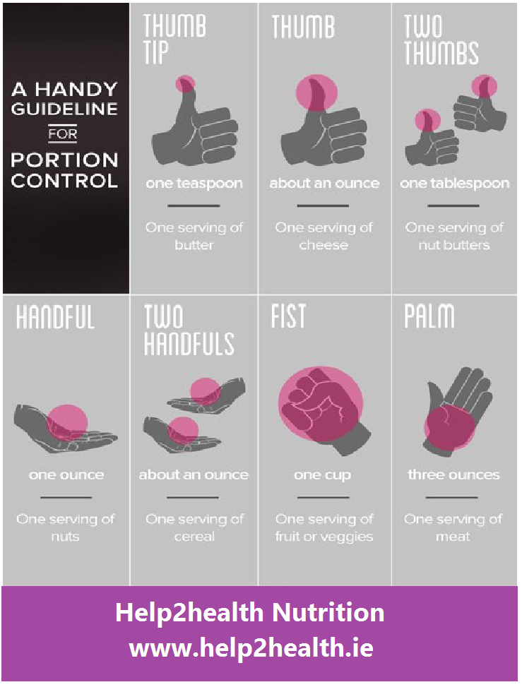 guide to portion control