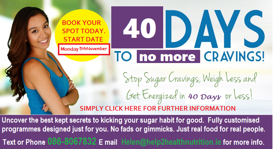 40 days to no more cravings 8