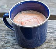 Spiced Almond Hot Chocolate