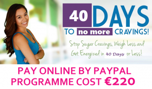 40 DAYS TO NO MORE CRAVINGS PAYPAL