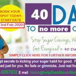 40 days to no more cravings 3rd feb 2020